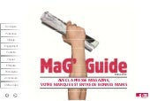 Mag guide interactif