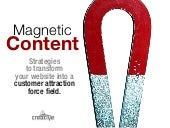 Magnetic Content: How to Attract Customers