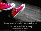 Becoming a Mahara contributor the n...