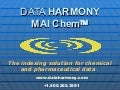 MAIChem - The Indexing Solution for Chemical and Pharmaceutical Data