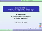 Semantic web in Cultural Heritage a...