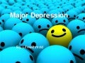 Major depression powerpoint