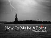 How To Make A Point