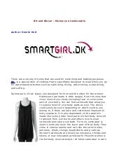 Makes you fashionable   smart girl.dk