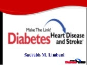 Link between diabetes and Heart dis...