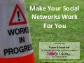 Make Your Social Networks Work for You #nctech4good