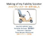 Making fablity-scooter0526 by Yoshisuke Kuramoto