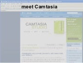 Making your first Camtasia video
