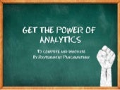 Making analytics work for you