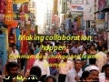 Making collaboration happen: communities, change and lessons learned