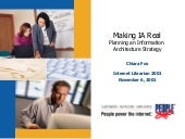 Making IA Real: Planning an Informa...