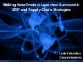 Making New Product Launches Successful: ERP and Supply Chain Strategies