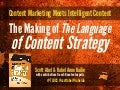 The Making of 'The Language of Content Strategy' - by Scott Abel, The Content Wrangler