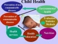 Child health and development