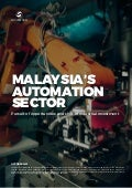 Malaysia's Automation Sector: Pursuit of Opportunities and Shift of Industrial Investment