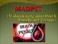 Malaysians against death penalty