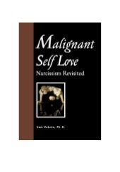 Malignant Self Love - Narcissism Re...