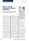 Malta a Fiscally Competitive EU Jurisdiction - Editorial Campden Wealth Directory 2014