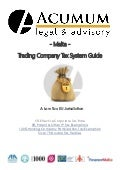 Malta Trading Company Tax System  Guide - Acumum Legal & Advisory