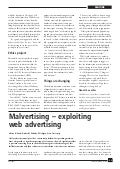 Malvertising - Exploiting Web Advertising | Elsevier Computer Fraud and Security Journal