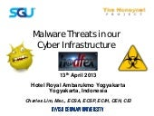 Malware threats in our cyber infras...
