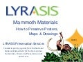 LYRASIS Mammoth materials unit3