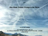 Man-made Climate Change in the Skie...