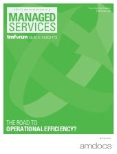 Managed services the road to operat...