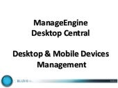 ManageEngine DesktopCentral - gesti...
