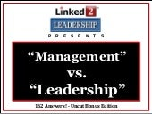 Management vs-leadership-on-linkedi...
