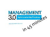 Management 3.0 Primer in 45 Minutes