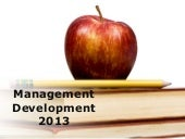 Management Development (Modern) Pow...