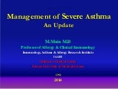 Management of severe asthma an upda...