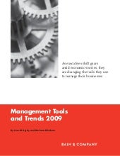 Management Tools 2009
