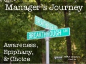 Manager's journey