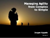 Managing Agility: From Complex To S...
