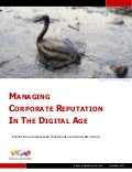 Managing Corporate Reputation In The Digital Age