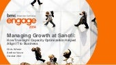 Managing Growth at Sanofi - How TrueSight Capacity Optimization Helped Align IT to Business