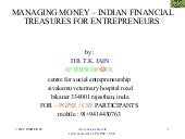 Managing money – indian financial t...