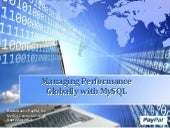Managing Performance Globally with ...