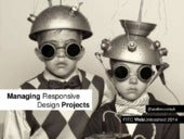 Managing Responsive Design Projects