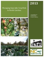 Managing Specialty Crop Risk in Nor...