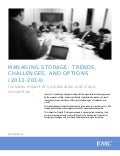 Managing Information Storage: Trends, Challenges, and Options (2013-2014) (Whitepaper)