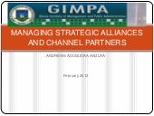 Managing strategic alliances and ch...