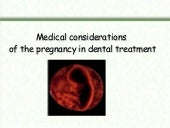 Manag of pregnant woman in dental c...