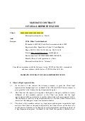 Mandate Contract Of Legal Representation Client And Lawyer Ju Dr Kl%C3%A1ra