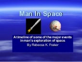 Man in space timeline