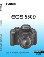 Manual Canon EOS 550D / T2i em Port...