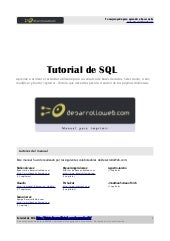 Manual tutorial-sql