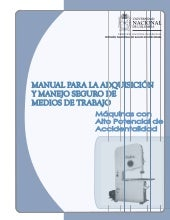 Manual adquisicion maquinas